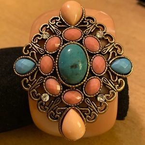 Vintage Hinged Cuff Bracelet